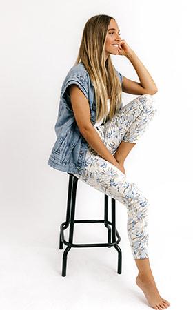 Slim Fit Jeans von ANGELS