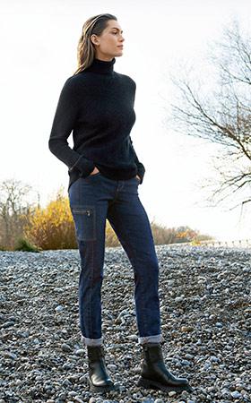 Schmale Jeans in verschiedenen Farben bei Angels